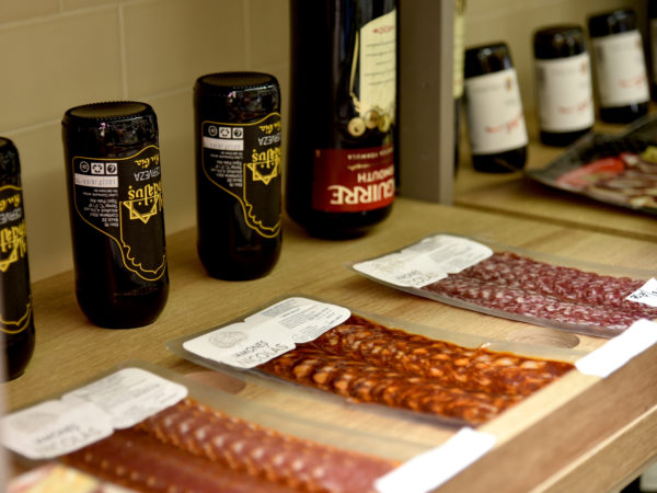 Sobres de Chorizo, Salchichon y lomo al vacio