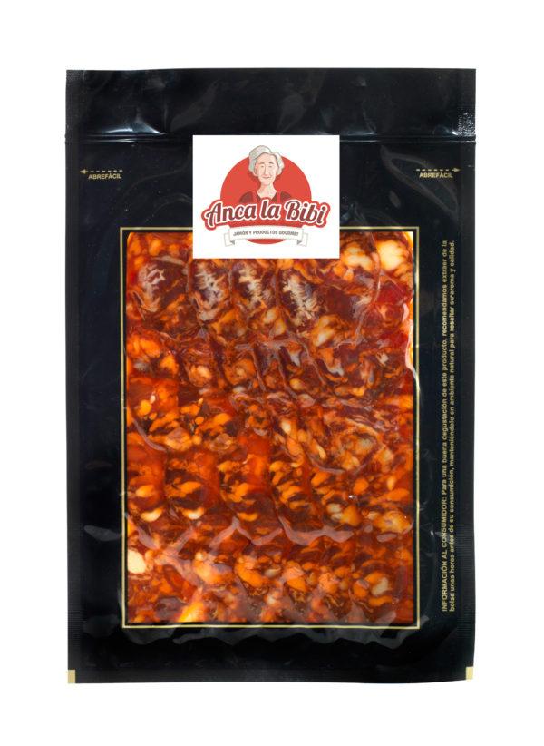 Chorizo Iberico de Bellota loncheado al vacío