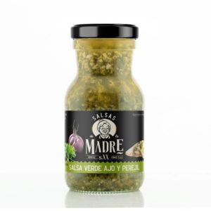 imagen de salsa verde de ajo y perejil